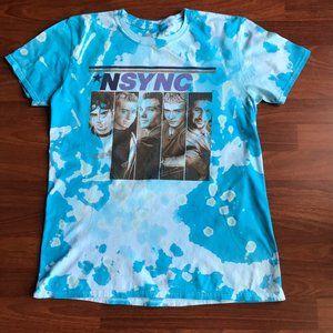 Vintage NSYNC Bleached T-Shirt